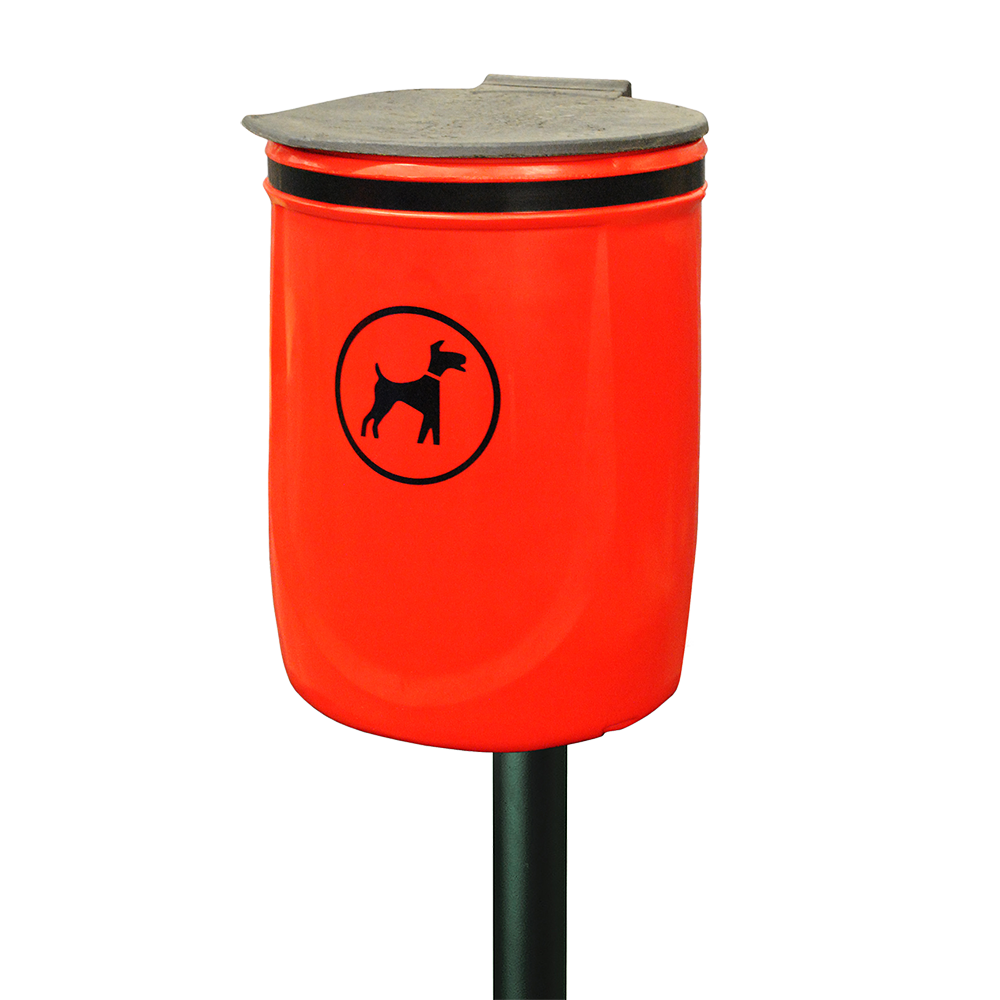 Melba Swintex Doggybin Litter Bin Street Furniture